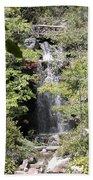 Bridge Over The Falls Bath Towel