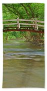 Bridge Over Valley Creek Bath Towel