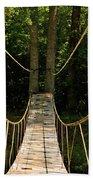 Bridge To The Forest Bath Towel