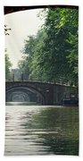 Bridges In Amsterdam Bath Towel