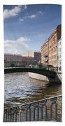 Bridges Of St. Petersburg Bath Towel