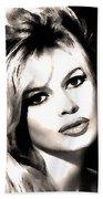 Brigitte Bardot Bath Towel