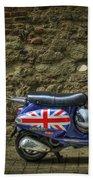 British At Heart Hand Towel by Evelina Kremsdorf