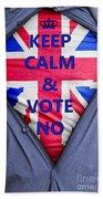 British Businessman Votes No Bath Towel