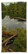 British Columbia Starvation Lake Bath Towel