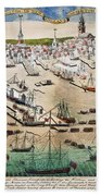 British Landing, 1768 Bath Towel