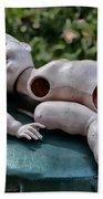 Broken Baby Doll Bath Towel
