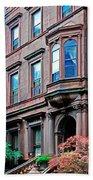 Brooklyn Heights - Nyc - Classic Building And Bike Bath Towel