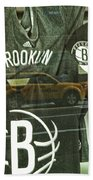 Brooklyn Nets Bath Towel