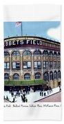 Brooklyn - New York - Flatbush - Ebbets Field - 1928 Bath Towel