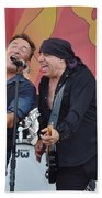 Bruce Springsteen 9 Bath Towel