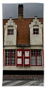 Bruges Houses Bath Towel