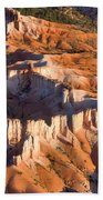 Bryce Canyon From The Air Bath Towel