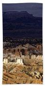 Bryce Canyon National Park Hoodo Monoliths Sunset Southern Utah  Bath Towel