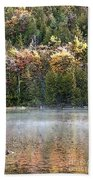 Bubble Pond Acadia National Park Bath Towel