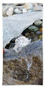 Bubbling Rock Bath Towel
