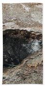 Bubbling Spring In Upper Geyser Basin Bath Towel