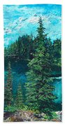 Buck Lake Bath Towel