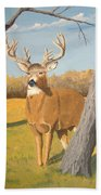 Bucky The Deer Bath Towel