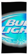 Bud Light Splash Bath Towel