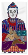 Buddha In Meditation Buddhism Master Teacher Spiritual Guru By Navinjoshi At Fineartamerica.com Hand Towel