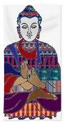 Buddha In Meditation Buddhism Master Teacher Spiritual Guru By Navinjoshi At Fineartamerica.com Bath Sheet