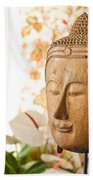 Buddha Head Bath Towel