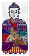 Buddha Spirit Humanity Buy Faa Print Products Or Down Load For Self Printing Navin Joshi Rights Mana Bath Towel