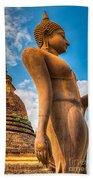 Buddha Statue Bath Towel