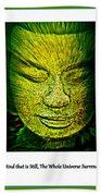 Buddhas Mind II Bath Towel