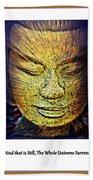 Buddhas Mind Bath Towel