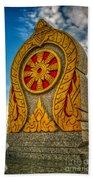 Buddhist Icon Bath Towel