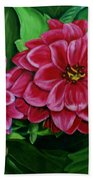 Buds And Blossoms Bath Towel
