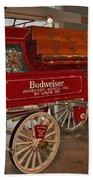 Budweiser Anheuser Busch Wagon Bath Towel