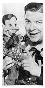 Buffalo Bob And Howdy Doody Bath Towel