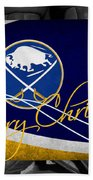 Buffalo Sabres Christmas Bath Towel