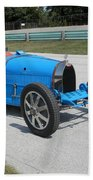Bugatti Type 35 Racer Bath Towel