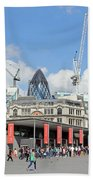 Building Work In The City Of London Bath Towel
