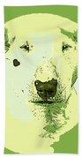 Bull Terrier Graphic 2 Bath Towel