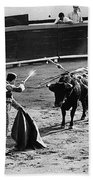 Bullfighter And The Lady Homage 1951 Bullfight Nogales Sonora Mexico Bath Towel