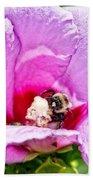 Bumble Bee Iv Bath Towel