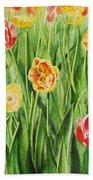 Bunch Of Tulips II Bath Towel