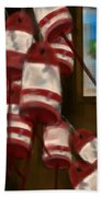 Buoys With A View      Hand Towel