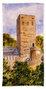 Burg Blankenstein Hattingen Germany Bath Towel