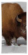 Burly Bison Bath Towel