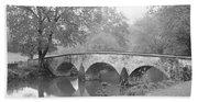 Burnside Bridge Antietam National Bath Towel