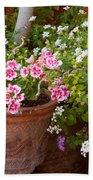 Bursting With Blooms Bath Towel