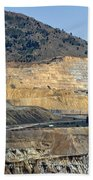 Butte Berkeley Pit Mine Bath Towel