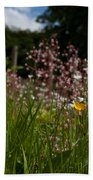 Buttercup And Wildflowers Bath Towel