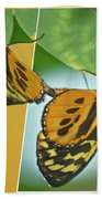 Butterflies Mating Out Of Bounds Bath Towel